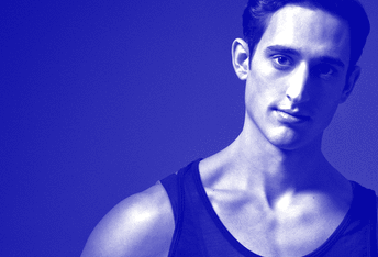 Choreographer Justin Peck at Open Barre